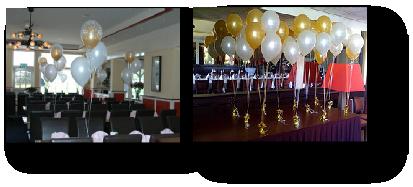 Ballonnen tafel decoratie for Ballonnen tafels